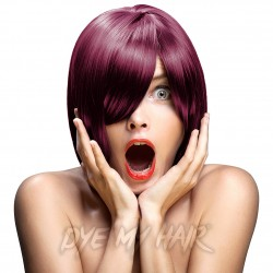 Crazy Color Semi-Permanent Hair Dye (Burgundy)