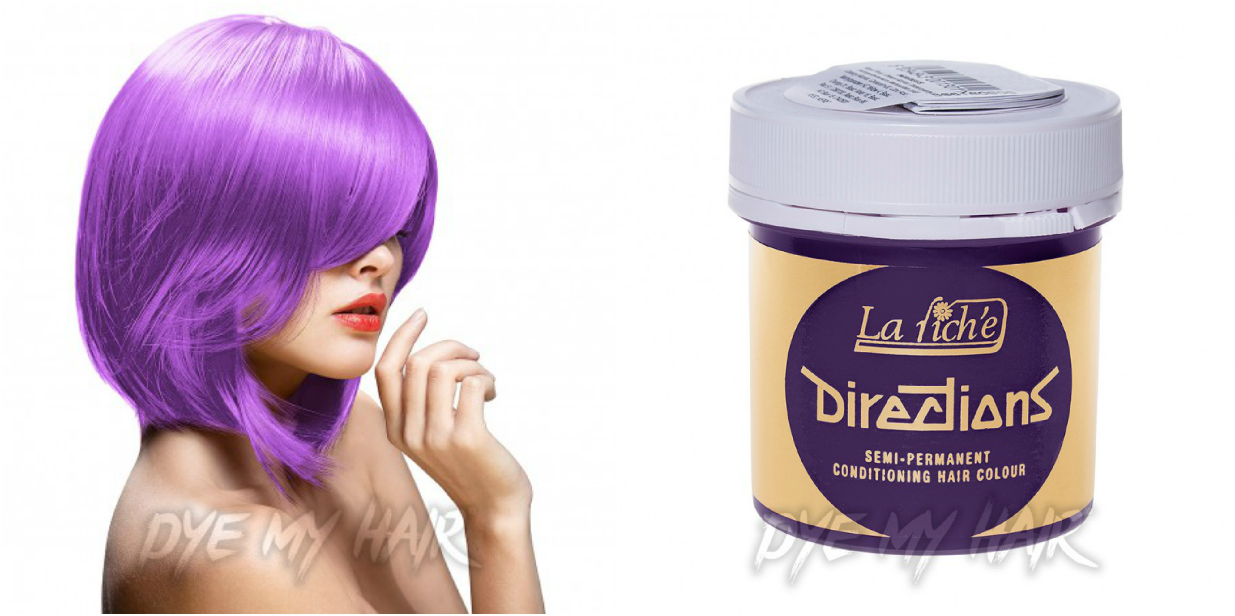 La Riche Lavender Semi Permanent Purple Hair Dye Colour