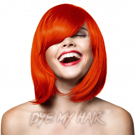 Bright Orange Hair Dye
