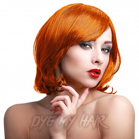 Orange Hair Dye, Dark Orange