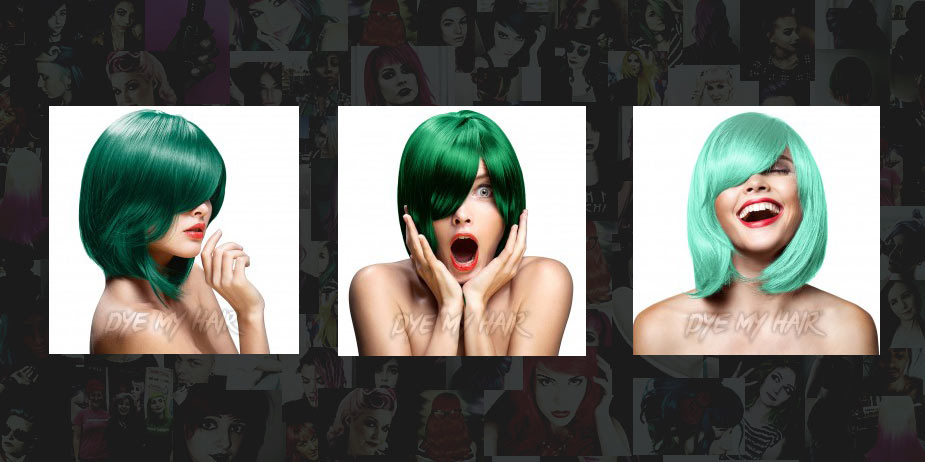 Green Hair Dye Colors: From Dark Green To Lime